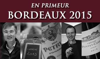 Bordeaux 2015 Vintage