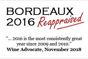 Bordeaux 2016 reappraised
