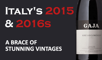 2015 & 2016 reds - A stunning brace of vintages